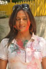 Brinda Parekh at Shabana_s Holi Celebration in Mumbai on 17th March 2014 (120)_5327e46beeea3.JPG