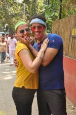 Deepshikha, Keshav Arora at Shabana_s Holi Celebration in Mumbai on 17th March 2014 (140)_5327e4c87f999.JPG