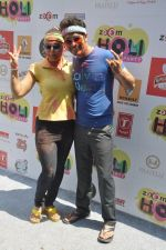 Deepshikha, Keshav Arora at Zoom Holi celebration in Mumbai on 17th March 2014 (128)_5327e73f1b08a.JPG