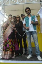 Manav Gohil, Usha Kakade, Pooja Mishra & Kunal Kapoor at the _Femina Marathon-Run to Save The Girl Child__5328225d8e985.jpg