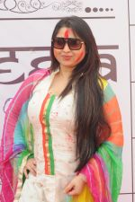 Misti Mukherji at Rasleela Holi 2014 by Mack & Neon 88 in Mumbai on 17th March 2014_53282f0a35882.JPG