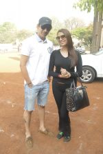 Mr. Anand & Pooja Mishra at the _Femina Marathon-Run to Save The Girl Child_._532822616ff54.jpg