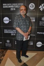 Shyam benegal at Mumbai Mantra-Sundance Screenwriters Brunch in Mumbai on 17th March 2014 (32)_53281dbe47e09.JPG