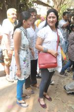 Smita Jaykar, Smita Bansal at Shabana_s Holi Celebration in Mumbai on 17th March 2014 (32)_5327e630aa70a.JPG