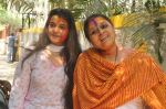 Supriya Pathak at Shabana_s Holi Celebration in Mumbai on 17th March 2014 (50)_5327e6566b52e.JPG