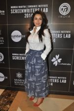 Tisca Chopra at Mumbai Mantra-Sundance Screenwriters Brunch in Mumbai on 17th March 2014 (76)_53281f36dbdc3.JPG