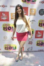 kainaat Arora at Zoom Holi celebration in Mumbai on 17th March 2014 (39)_5327e727285ac.JPG