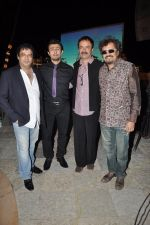 Girish Mallik, Sonu Niigaam, Bickram Ghosh, Rajkumar Hirani at the Music launch of film Jal in Mumbai on 19th March 2014 (22)_532ac11965dae.JPG