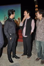 Sonu Niigaam, Bickram Ghosh, Rajkumar Hirani at the Music launch of film Jal in Mumbai on 19th March 2014