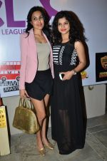 Kamya Punjabi, Sneha Wagh at Box Cricket league launch in Bandra, Mumbai on 20th March 2014 (49)_532c249bb1a82.JPG