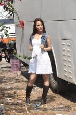 at Hume Toh Loot Liya on location in Andheri, Mumbai on 20th March 2014 (84)_532c25fcf02f3.JPG