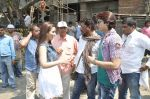 at Hume Toh Loot Liya on location in Andheri, Mumbai on 20th March 2014 (55)_532c25f72d22e.JPG