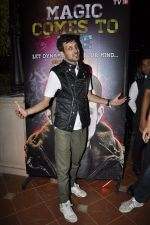 Dynamo magician at History 18 press meet in ITC Parel, Mumbai on 21st March 2014 (19)_532cf5f0bd422.JPG