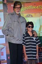 Amitabh Bachchan, Parth Bhalerao at Bhootnath Returns promotions in Prabhadevi, Mumbai on 22nd March 2014 (39)_532ebc6488fe9.JPG
