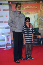 Amitabh Bachchan, Parth Bhalerao at Bhootnath Returns promotions in Prabhadevi, Mumbai on 22nd March 2014 (51)_532ebc591d904.JPG