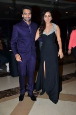 Neha Sharma, Jackky Bhagnani at Vashu Bhagnani_s bash who completes 25 years in movie world in Marriott, Mumbai on 22nd March 2014 (176)_532ec1dfc74f8.JPG