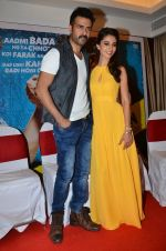 Ayesha Khanna, Harman Baweja at the Promotion of Dishkiyaoon in Sun N Sand on 25th March 2014 (12)_5332c50944f1d.JPG