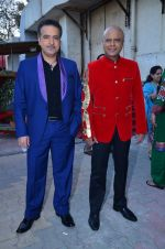 Ravi Behl, Naved Jaffrey on the sets of Boogie Woggie grand finale in Malad, Mumbai on 25th March 2014 (6)_5332c2bcef19f.JPG