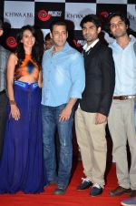 Simer Motiani, Salman Khan, Navdip Singh, Zaid Ali Khan unveils Khwaabb Music Album in Mumbai on 28th March 2014 (21)_5336b80549793.JPG