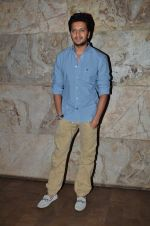 Riteish Deshmukh at the special screening of Marathi film Yellow in Mumbai on 29th March 2014