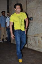 Salman Khan at the special screening of Marathi film Yellow in Mumbai on 29th March 2014
