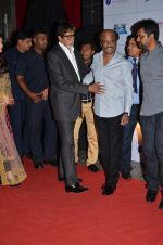 Amitabh Bachchan, Rajinikanth at the Premiere of the film Kochadaiiyaan in Mumbai on 30th March 2014 (45)_53397315954bd.JPG