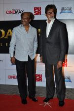 Amitabh Bachchan, Rajinikanth at the Premiere of the film Kochadaiiyaan in Mumbai on 30th March 2014 (59)_533973191479f.JPG