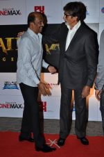 Amitabh Bachchan, Rajinikanth at the Premiere of the film Kochadaiiyaan in Mumbai on 30th March 2014 (61)_53397319a9ac6.JPG