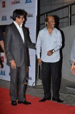 Amitabh Bachchan, Rajinikanth at the Premiere of the film Kochadaiiyaan in Mumbai on 30th March 2014 (64)_5339731a4fc21.JPG