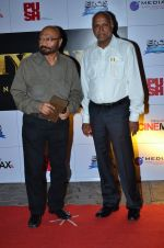 Govind Nihalani, Manmohan Shetty at the Premiere of the film Kochadaiiyaan in Mumbai on 30th March 2014 (11)_533971650d31a.JPG