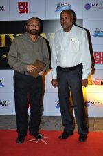 Govind Nihalani, Manmohan Shetty at the Premiere of the film Kochadaiiyaan in Mumbai on 30th March 2014 (9)_5339715a23a28.JPG