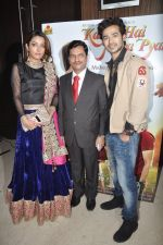 Sonia Mann, Abhishek Sethiya at the launch of Kahin Hain Mera Pyar film in Novotel, Mumbai on 31st March 2014 (41)_533a701dce20b.JPG