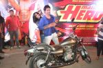 Varun Dhawan takes Ekta Kapoor for a bike ride to promote Main Tera Hero in Goregaon, Mumbai on 31st March 2014 (36)_533aa55d81162.JPG