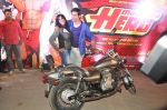 Varun Dhawan takes Ekta Kapoor for a bike ride to promote Main Tera Hero in Goregaon, Mumbai on 31st March 2014 (42)_533aa55e76cdd.JPG