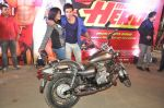 Varun Dhawan takes Ekta Kapoor for a bike ride to promote Main Tera Hero in Goregaon, Mumbai on 31st March 2014 (44)_533aa55ecdd92.JPG