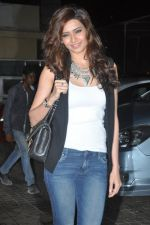 Karishma Tanna at Main Tera Hero screening in PVR, Mumbai on 3rd April 2014 (7)_533e24a699de6.JPG