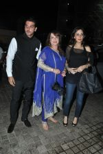 Zayed Khan, Farah Ali Khan, Zarine Khan at Main Tera Hero screening in PVR, Mumbai on 3rd April 2014 (18)_533e2580cf06c.JPG