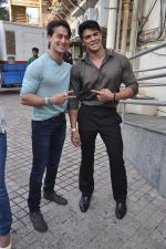 Tiger Shroff , Sahil Khan at Heropanti launch in Mumbai on 4th April 2014 (79)_533fd81cb6ab1.JPG