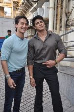 Tiger Shroff , Sahil Khan at Heropanti launch in Mumbai on 4th April 2014 (82)_533fd81f26961.JPG