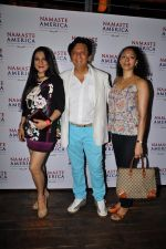 Kailash Surendranath, Aarti Surendranath at Namaste America with Gautam Rode in Hard Rock Cafe, Mumbai on 6th April 2014 (4)_53429b0f048d9.JPG