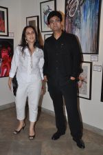 Parsoon Joshi at Aamir Khan_s sister Nikhat Khan art showcase in Cymroza art gallery on 11th April 2014 (12)_534925dddc994.JPG