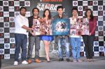 Mithoon, Ankit Tiwari, Madalasa Sharma, Rajeev Khandelwal, Kaushik Ghatak, Kavita Barjatya at Samrat and Co trailer launch in Infinity Mall, Mumbai on 11th April 2014 (108)_534a0ea592247.JPG