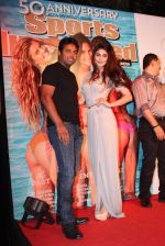 Pooja Gupta, Leander Paes at Sports Illustrated swimsuit issue launch in Royalty, Mumbai on 14th April 2014 (159)_534d034601ca6.JPG