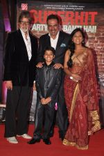 Amitabh Bachchan,Parth Bhalerao, Boman Irani,Usha Jadhav at Bhoothnath Returns Success Bash in J W Marriott, Mumbai on 16th April 2014 (43)_534fbb252804c.JPG