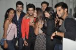 Gauhar Khan, Kushal Tandon, Karanvir Bohra, Teejay Sidhu, Rajneesh Duggal, Nikitin Dheer at Nitya Bajaj fashion show in Villa 69, Mumbai on 18th April 2014 (21)_535344ba87968.JPG