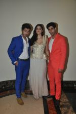 Izabelle Liete, Aditya Seal, Tanuj Virwani walks for Sonakshi Raaj at Save Girl Child show in ITC Parel, Mumbai on 19th April 2014 (167)_5353981fe4ffc.JPG