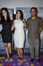 Pooja Chopra, Nisha Pahuja, Shimit Amin at the First look launch of Anurag Kashyaps Award Winning Documentary The World Before Her in Juhu on 22nd April 2014 (22)_53574d898af60.JPG