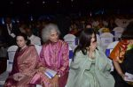 Aishwarya Rai Bachchan, Shivkumar Sharma pays tribute to Sri Sathya Sai Baba in Mumbai on 27th April 2014 (162)_535e085a03971.JPG