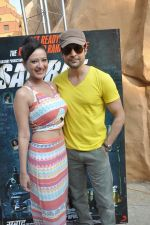 Rajeev Khandelwal and Madalasa Sharma at Waterkingdom to celebrate its 16th Anniversary and promote Samrat & Co. in Mumbai on 27th April 2014 (101)_535e019d55bae.JPG