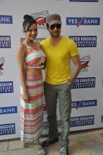 Rajeev Khandelwal and Madalasa Sharma at Waterkingdom to celebrate its 16th Anniversary and promote Samrat & Co. in Mumbai on 27th April 2014 (63)_535e0155cf549.JPG